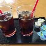 白州庵 - ドリンク写真:アイスコーヒー 16.6月