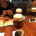 Kirinshithipurasu - 見事に美しく注がれたビールです