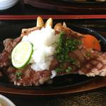善米食堂 - 1日10食限定豊後牛ステーキ3000円