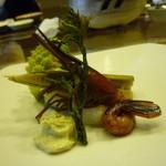 あかん鶴雅別荘 鄙の座 - 前菜
