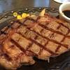 ステーキハンバーグ&サラダバー けん - 料理写真:サーロインステーキ 180g