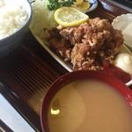 53078188 - 鶏唐揚げ定食