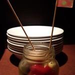 ゴチ - 自家製ピクルス☆☆ ここのピクルス食べてピクルス好きになりました!