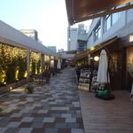 kawara CAFE&DINING - テルミナ5Fのよるテラす
