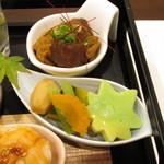 神戸和食 とよき - 野菜の煮物・どて焼き