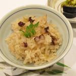 神戸和食 とよき - 御飯~タコの釜飯