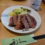 牛たん炭焼 利久 - 料理写真:牛たん極定食・4枚8切(3002円)