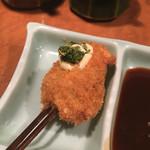 串かつ 吉国 - 椎茸