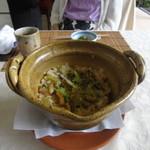 畑善 - とどめの「はも土鍋ご飯」