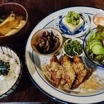Kotobanohaoto - 『青春プレートごはん』(1000円)!!京都の素材にこだわった 身体に優しい ヘルシーなご飯プレート!!お肉をメインに 旬の野菜とゴマをふんだんに使用している~♪(^o^)丿