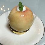 マリオネット - 料理写真:丸ごともものタルト 税込480円