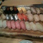 清司 - 寿司盛り合わせ