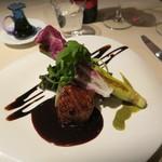 カジュアルフレンチ アミー - 鴨胸肉と岩槻産ヨーロッパ野菜のグリル