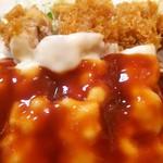 とも - チーズチキンカツ定食(チキンアップ)