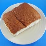 53096417 - 牛乳パン(上から)