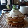 ジャストカフェ - 料理写真:バナナパンケーキ