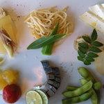 Sumibiwashokuso - 前菜の盛り合わせ