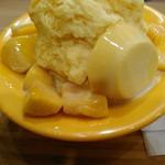 鼎雲茶倉 - 夏期限定のマンゴーかき氷