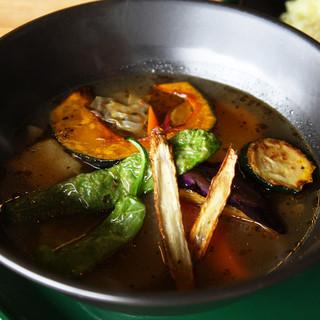 ★札幌発祥スープカレー!約1,400km離れたココでeat♪