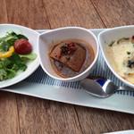 フレンチ屋台総州 - ランチの前菜