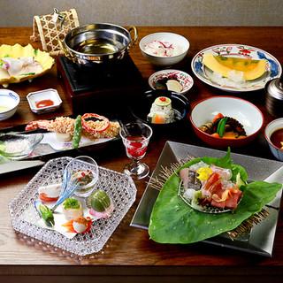大人の隠れ家で、日本料理を。