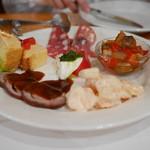53106271 - 日替わりのイタリア料理の前菜5品