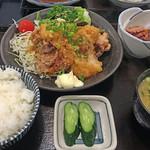 53106767 - 鶏の唐揚げおろしポン酢(小鉢付)