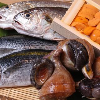 魚料理にこだわってます。