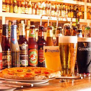 世界のビールを愉しむ2.5時間飲み放題付コース2980円~!