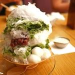 HIGASHIYA GINZA - かき氷・抹茶金時