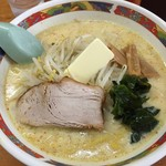 53110574 - 味噌カレー牛乳ラーメン(バター入り)800円