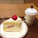エヌズコート - ショートケーキ & コーヒー
