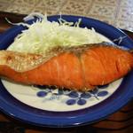 かかし - 昼の定食(焼鮭)