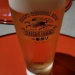 53113074 - 昼限定セットの生ビール。