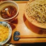 53113089 - 鴨せいろ(大盛)+揚げ玉(60円)