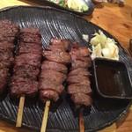 53113153 - 牛たん串焼きとサガリ焼 【各1本1,300円】