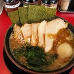熊田家 - チャーシュー麺中盛り