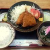 むさしの - 料理写真:あじフライセット 550円