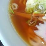 中華料理 大勝軒 - スープ