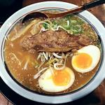 らー麺大勝 - 【トロこつらー麺 + 自家製味玉子】¥780 + ¥100(税抜)