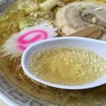 佐野山銀本店 - 透き通ったスープ
