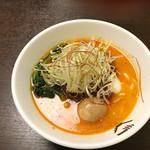 53119424 - 担々麺 熟玉のせ☆940円①
