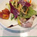 53119486 - ランチ前菜の盛り合わせ