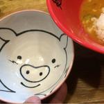 麺処いのこ - ライス碗