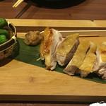 53121230 - 伊達鶏の青唐味噌焼き