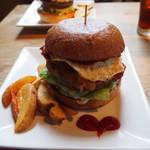 エスケール - ベーコンエッグチーズバーガー