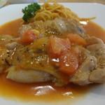 洋食キッチン cocoro - 鶏もも肉のめちゃうまチキンステーキ