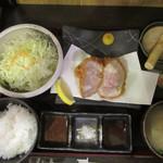 黒かつ亭 - 上ロースかつランチ(1,080円)