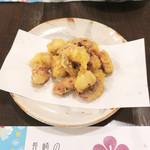 隠れ岩松 - 蛸の天ぷら