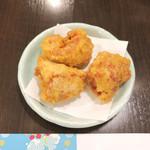 隠れ岩松 - 鶏天